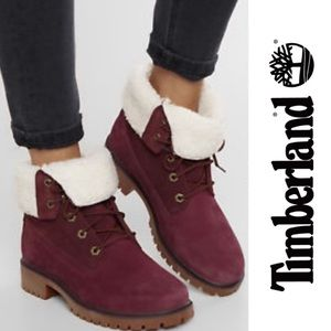 Timberland Waterproof Teddy  Fold Down Boots